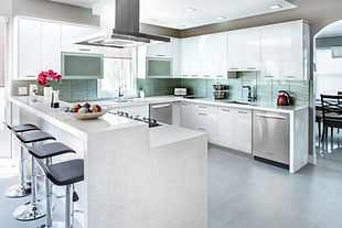 Pre-fab kitchen cabinets
