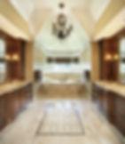 custom cabinets marble bathroom