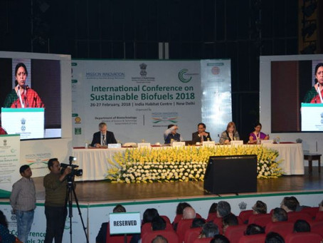 New Delhi: international conference reinforces consensus on the need to scale up sustainable biofuel