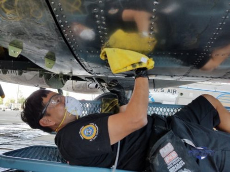 Torrance Detailer Selected for Elite Air Force One Detailing Team