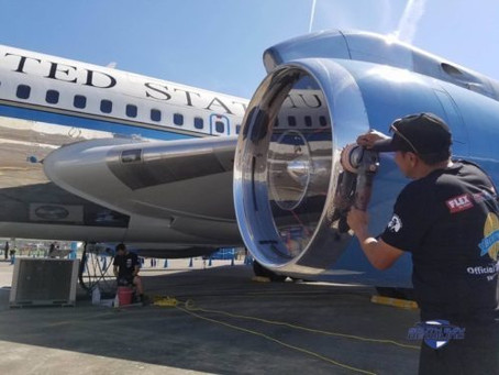 2016 Air Force One & Boeing Centennial Detailing Team