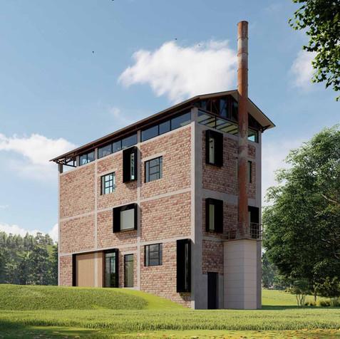 Industrial building conversion Italy