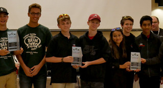Panther Robotics Hosts & Wins first Indiana In the Zone Tournament of the Year