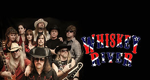 Whiskey River Band Photo with logo.jpg