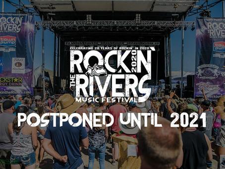 2020 Festival Postponement