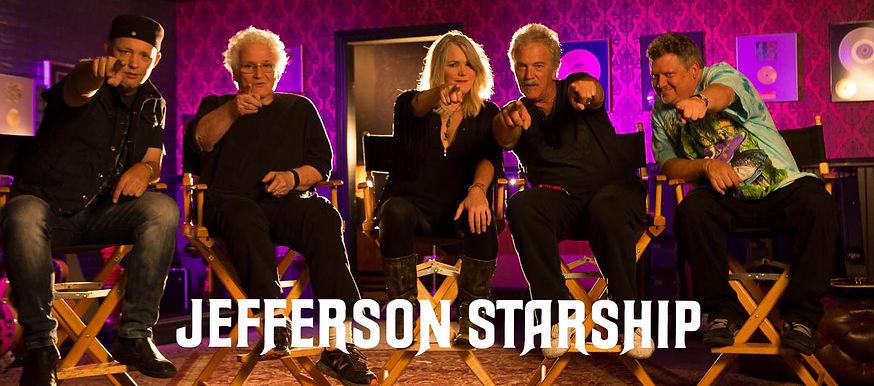 Jefferson Starship Photo with Logo for W