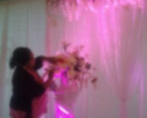 Floral setup for Muslim Wedding