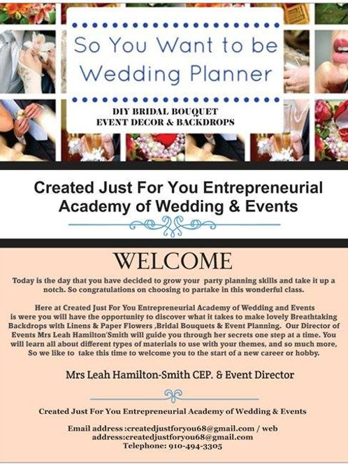 FULL EVENT PLANNING COURSE