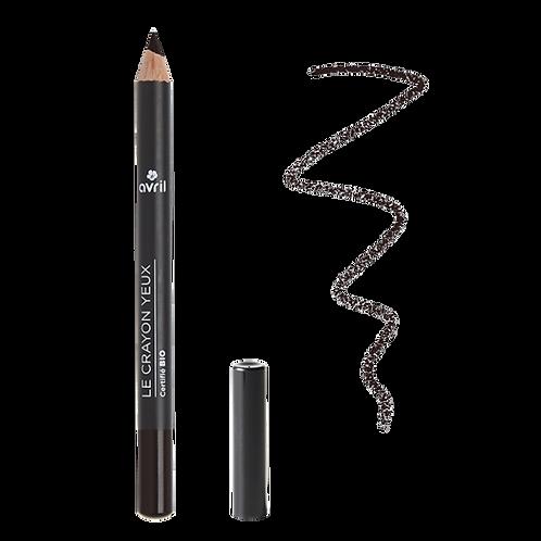 Crayon yeux noir charbon bio