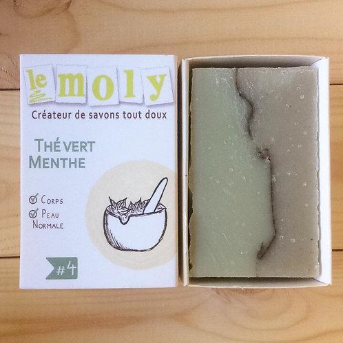 Savon thé vert / menthe - corps et peau normale