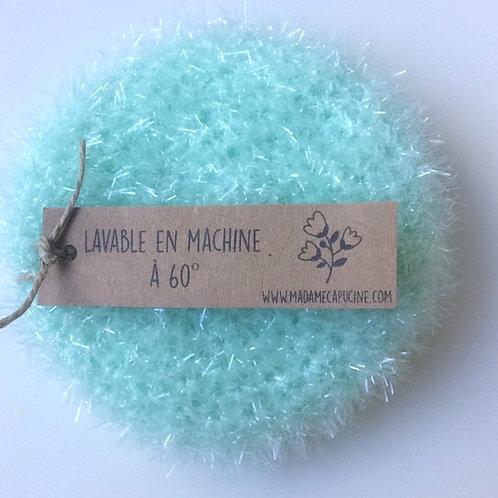 Eponge vaisselle Madame Capucine menthe