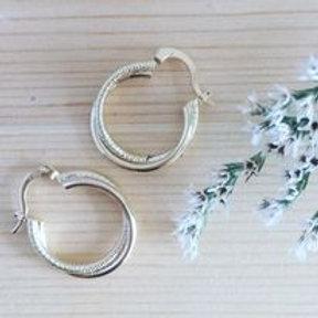 Créoles double anneau