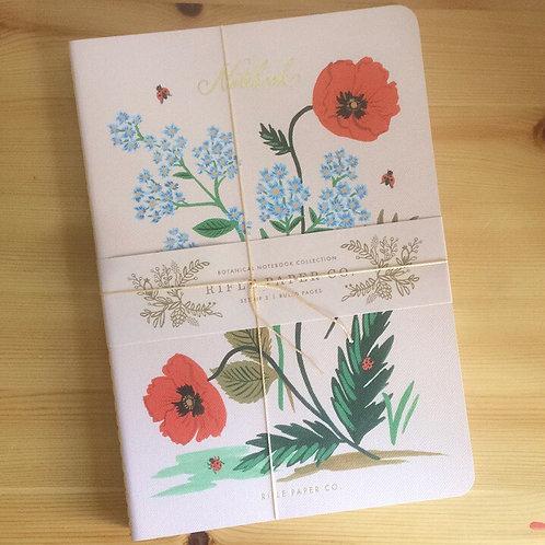 Set de 3 carnets de notes Rifle Paper Co. botanique