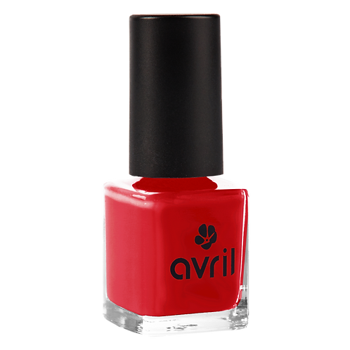 Vernis rouge passion Avril