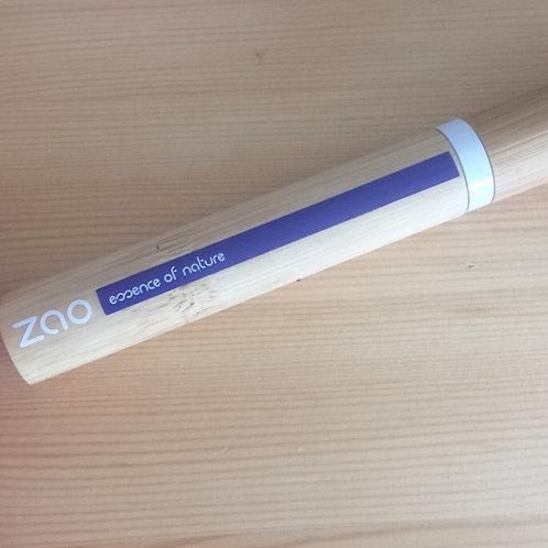 Mascara ZAO Aloe vera brun foncé rechargeable
