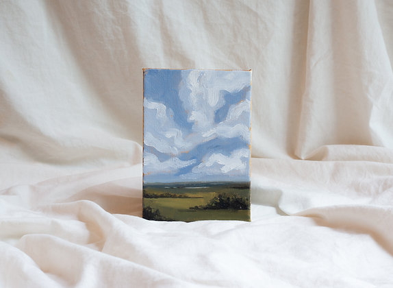 """Cloudscape II"" Original Painting"