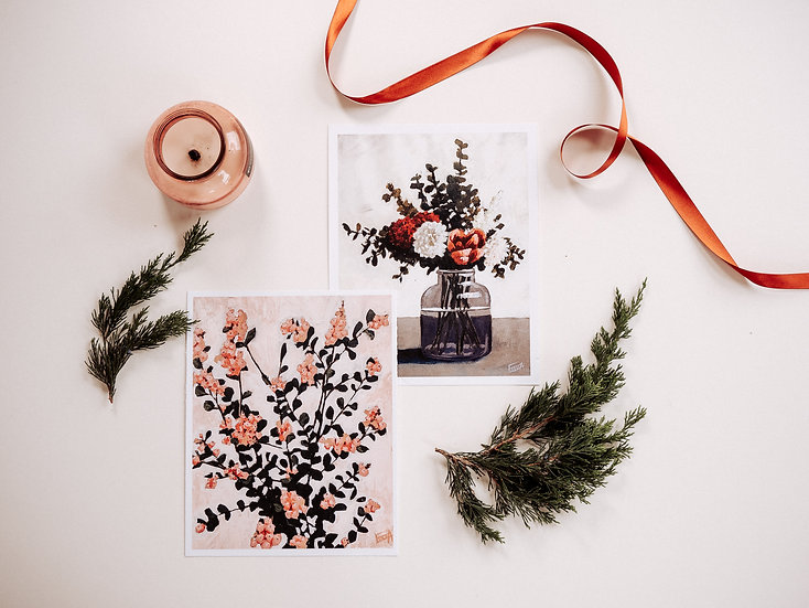 print bundle: fresh flowers