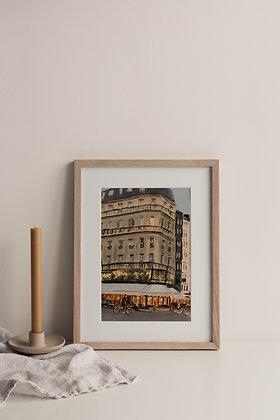 Cafe de Flore Print