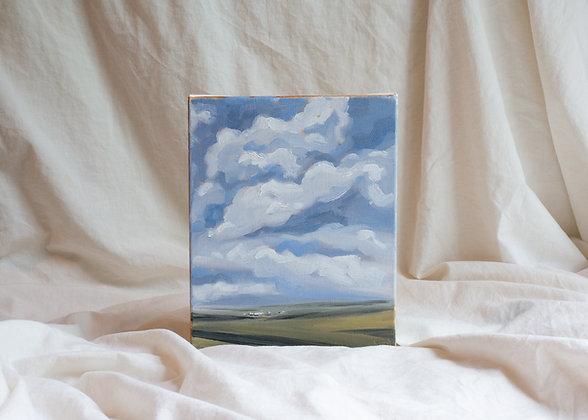 """Cloudscape I"" Original Painting"
