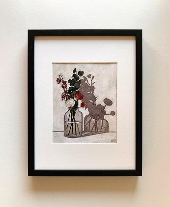Afternoon Flowers Print