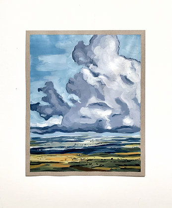 Cloudscape Print