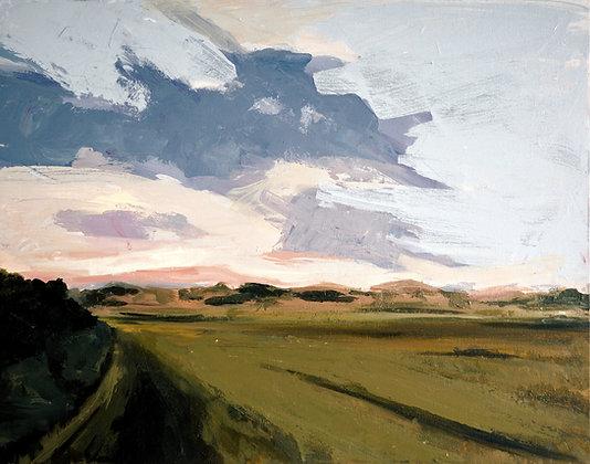 Madden Farm, Original Acrylic Painting