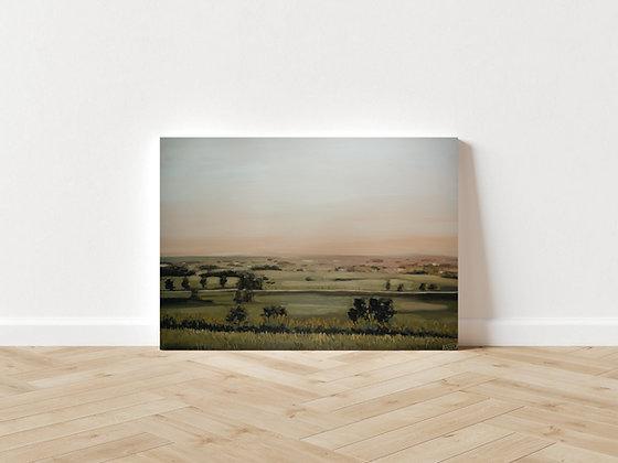 """Terracotta Sunset"" Original Painting"
