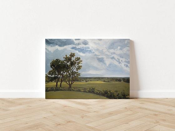 """Burdette Knob"" Original Painting"