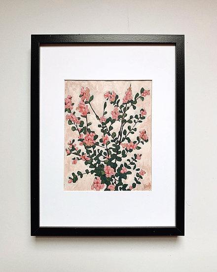 Pink Berries Print