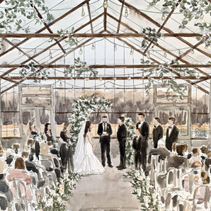 Krissy Campbell Wedding