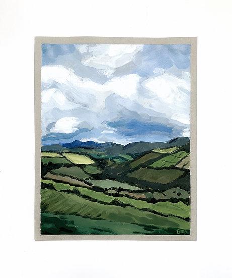 Fieldscape Print