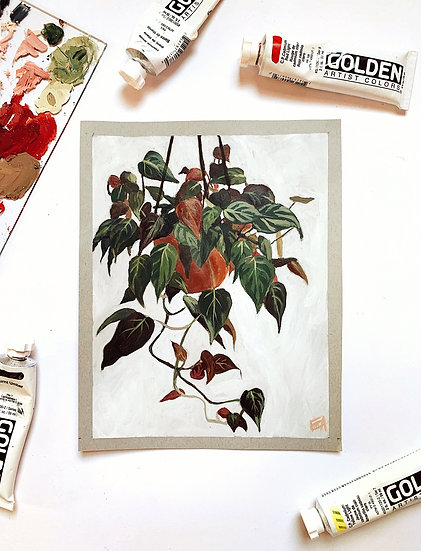 Philodendron Print