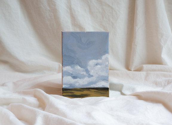 """Cloudscape III"" Original Painting"