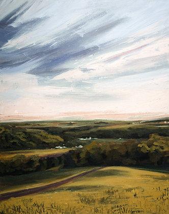Overlook, Original Acrylic Painting