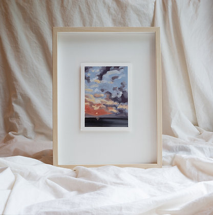 """""""Lakeside Evening"""" Original Painting"""