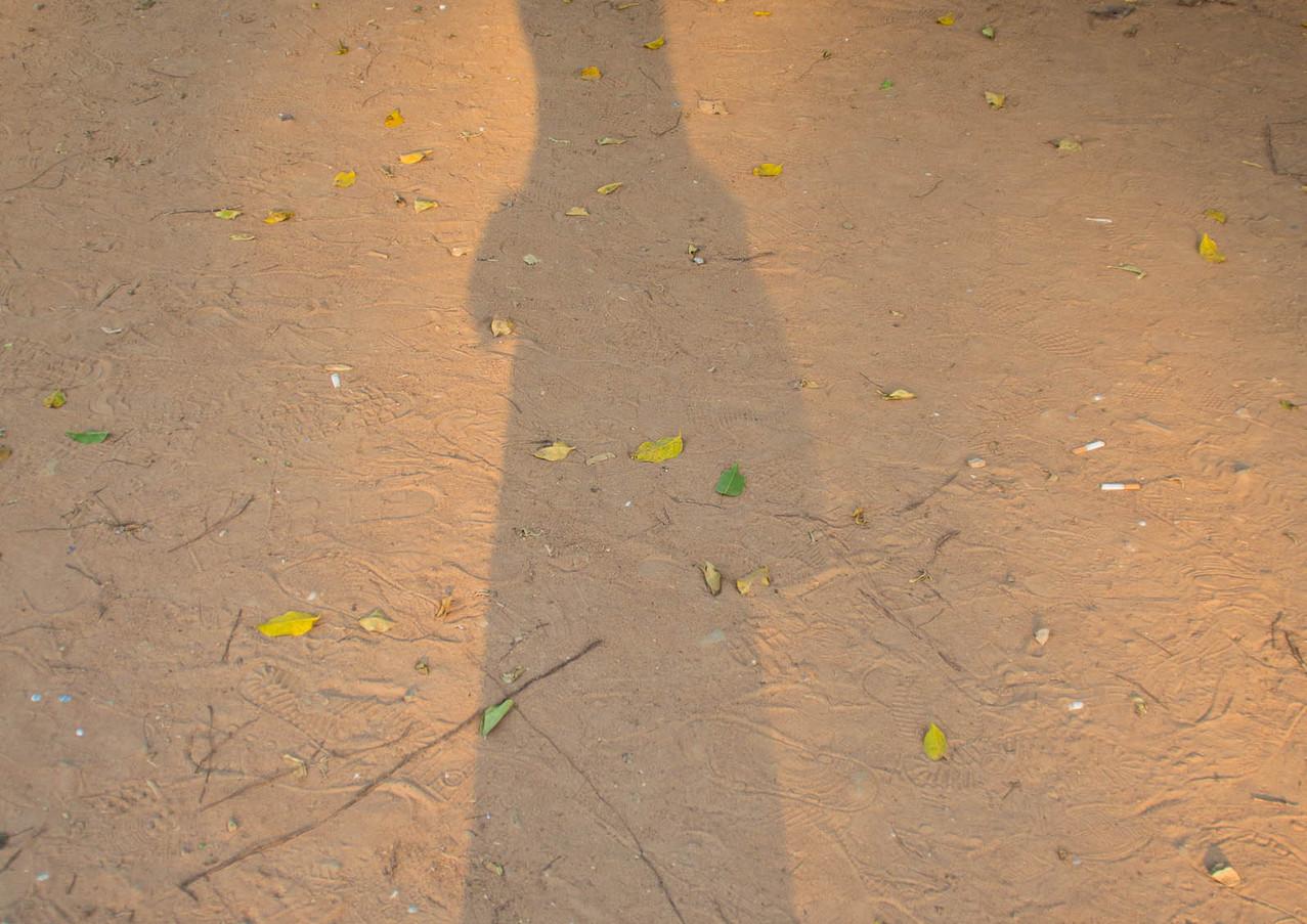 Selbstporträt in Angkor