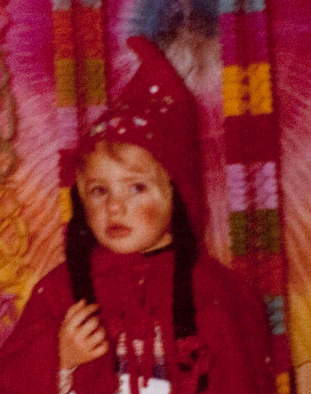 God, I've always hated dressing up. It made me awfully sad, God knows why.
