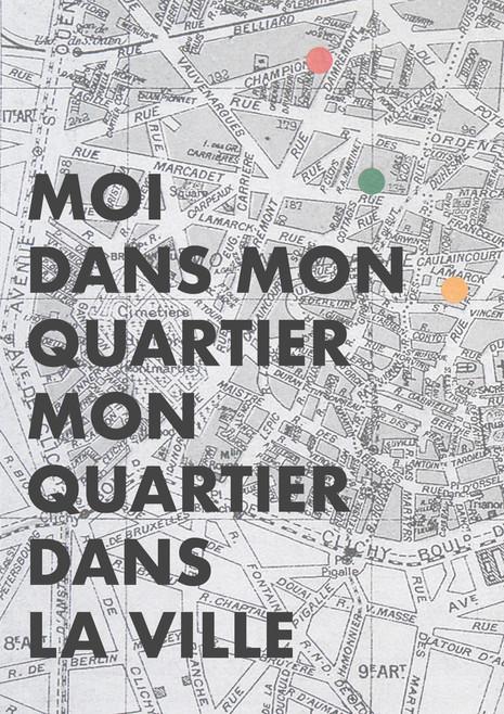 """Moi dans mon quartier..  Un atelier avec le club Seniors de Bvd Ney, 18eme arrondissement de Paris, en collaboration avec La Sierra Prod, dans le cadre du projet """"Fenetre sur Clignancourt""""."""