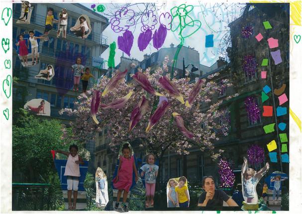 Le quartier en jeu!: Atelier avec les élèves de l'Ecole Maternelle Joseph de Maistre, 18eme arrondissement, Paris, France Dans le cadre des Ateliers de la Ville de Paris, au sein de l'association Parole de Photographes, en partenariat avec la Ville de Paris.