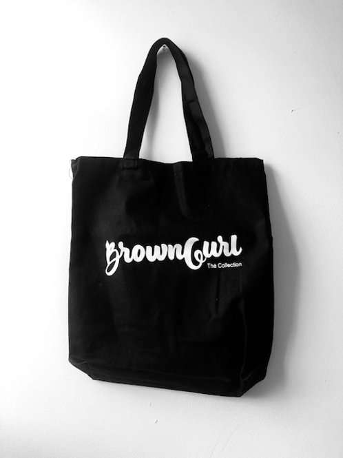 The BrownGurl Canvas Tote