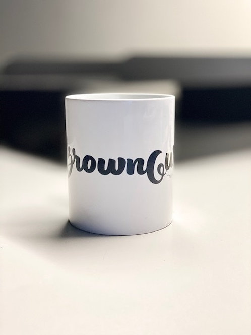 BrownGurl Mug (White)