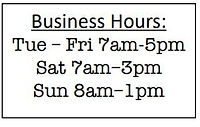 Cheese Bread Business Hours.JPG