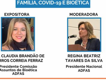 WEBINAR –  Família, COVID-19 e Bioética