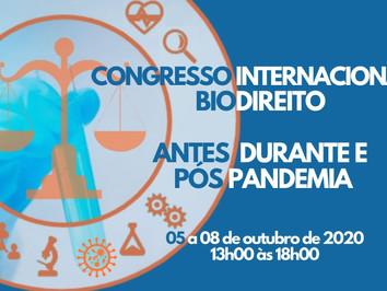 Síntese do Congresso Internacional da ADFAS sobre Biodireito antes, durante e após a pandemia.