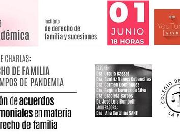 Ciclo de conversas: Direito de Família em tempos de pandemia