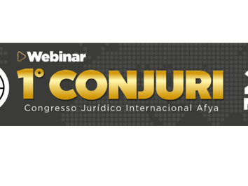 1º CONJURI - Congresso Jurídico Internacional Afya