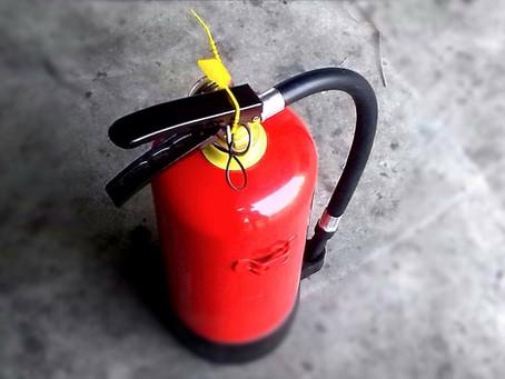 Brandinspektion / Fire inspection