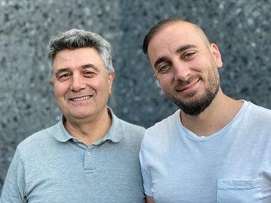 Mohammad Rahvardi och Isak Dikmen