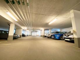 Brf Herrgårdsparkens garage