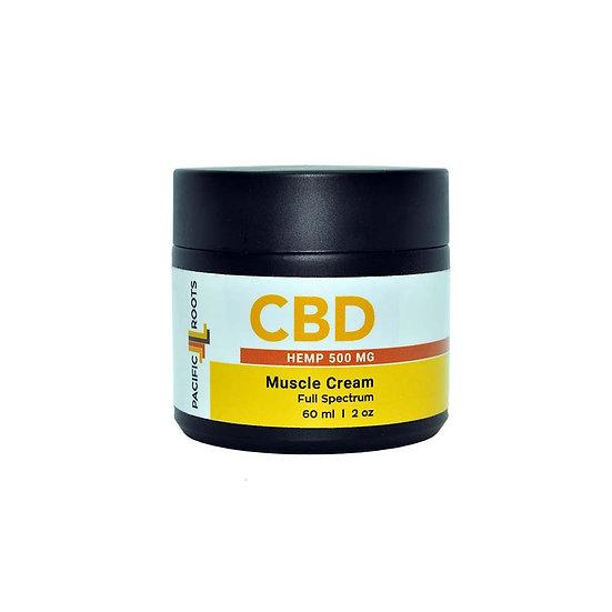 2oz 500mg Full Spectrum CBD Pain Cream